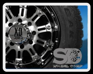 Black Rims with 265 70 17 Falken Wild Peak Tires Wheels Rims