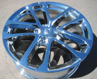 Stock 4 New 18 Factory Nissan Altima Chrome Wheels Rims 09 12