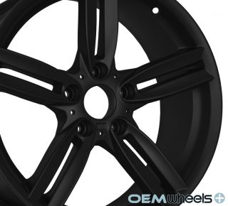 18 Black M Style Wheels Fits BMW 328 328i 328CI M3 E46 E90 E92 E93