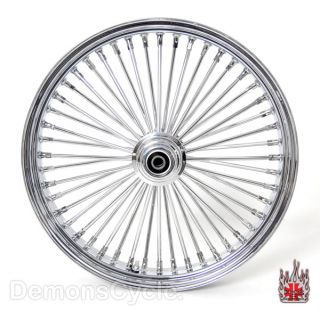 Chrome Fat Mammoth Custom Wheels 21x3 5 18x4 25 48 Spokes for Custom