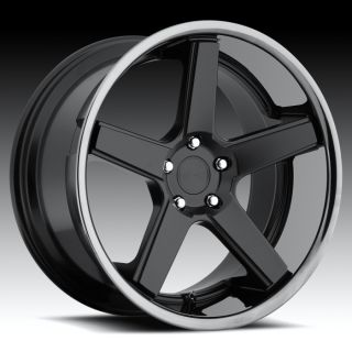 22 Niche MHT Nurburg Wheels Black BMW 6 Series 645 650 M6 E63 E64
