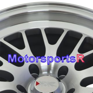 16 16x8 XXR 531 White Wheels Rims 5x114 3 Stance 95 96 97 98 Nissan