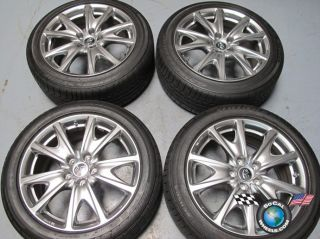 10 Infiniti G37 Coupe Factory 18 Wheels Tires Rims 73716 73717