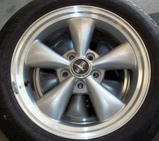 FOUR 2007 FORD MUSTANG 17 FACTORY OEM WHEELS WITH CENTER CAPS & TWO