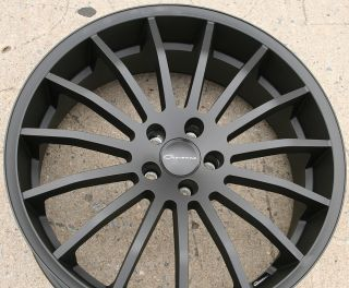 Giovanna Martuni 22 Black Rims Wheels FX35 FX45 03 Up 22 x 9 0 5H 38