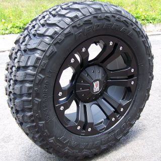 18 MONSTER WHEELS & 35 FEDERAL MT TIRES JEEP WRANGLER JK 4X4 RUBICON
