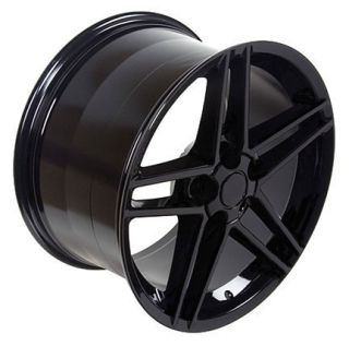 17 Rim Fits Corvette C6 Z06 Wheel Black 17 x 9 5