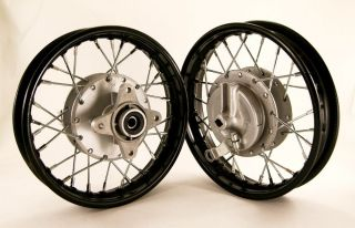 10 Front and Rear Rim Wheel Drum Brake Set XR50 CRF50 Stock Bike 12mm