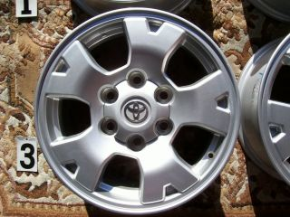 TOYOTA TACOMA TRD 16 WHEELS RIMS STOCK OEM GENUINE TUNDRA 4RUNNER FJ