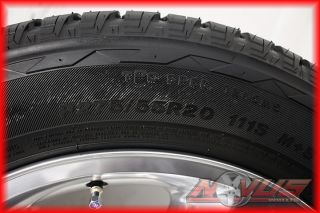 TAHOE LTZ SILVERADO POLISHED OEM WHEELS TIRES SENSORS CAPS YUKON 22 18