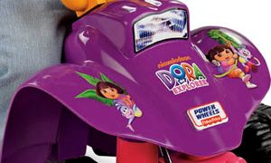 Fisher Price Power Wheels Dora The Explorer Lil Quad