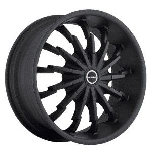 20 inch Strada Stiletto Stealth Wheels Rims 5x115 Charger Magnum