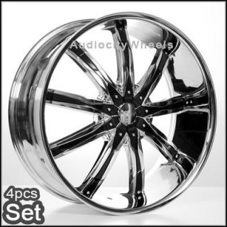 30 Wheels Rims Escalade Chevy Ford QX56 H3 Silverado Yukon Tahoe
