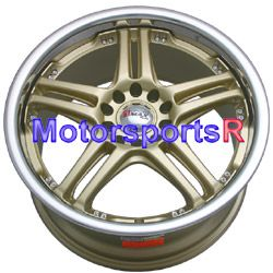 18 XXR 502 Gold Wheels Rims Subaru WRX Outback Legacy