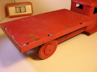 Stake Bed Truck Wyandotte Buddy L 30s 40s Ford Chevy 22 Tin Hot Rat