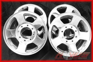 FORD F250 F350 SUPERDUTY EXCURSION POLISHED ALLOY OEM WHEELS RIMS 20