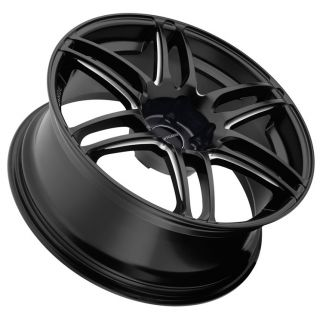 19 Avant Garde M368 Wheels Black Mercedes E Class E320 E350 E430 E500