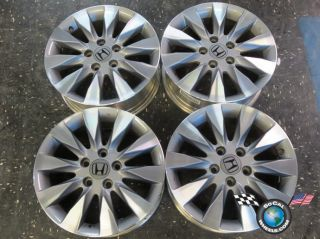 Four 09 11 Honda Civic Factory 16 Wheels Rims 63995 42700SNAA72