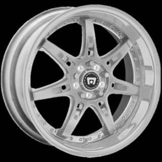 18x8 Silver Wheels Rims Motegi SP7 5x100 5x4 5