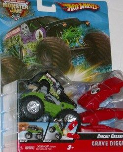Hot Wheels Grave Digger Monster Pop Up Car