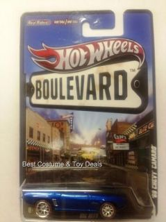 Big Hits 69 Chevy Camaro 2012 Hot Wheels Boulevard F Case Mattel