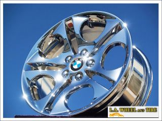 New 18 BMW Z4 E85 Chrome Wheels Rims Set Exchange