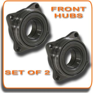 90 97 Honda Accord 4CYL Front Wheel Hub Bearings Pair