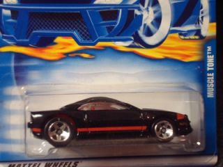 Hot Wheels 2001 Collectors Series Muscle Tone Blk Vari