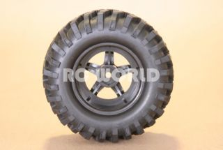 RC 1 10 Truck Tamiya Rims Wheels Tires Highlift Truck Wheels