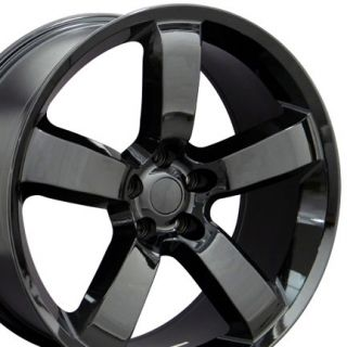 20 Black Charger SRT Wheels 20 x 9 Rim Fits Dodge