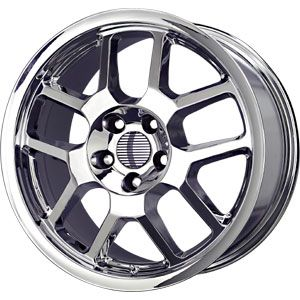 New 18X10 5 114.3 Replica Gt500 Mustang Chrome Wheel/Rim