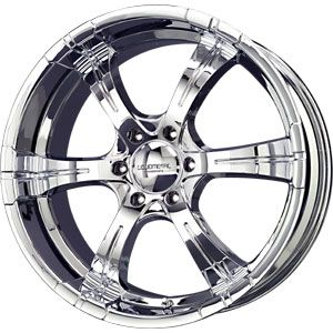 New 20X8.5 6 139.7 Magma Chrome Wheels/Rims