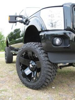 22 Black XD Rockstar Wheels Rims 35 Nitto Trail Grappler Chevy