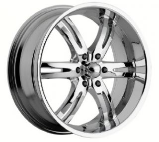 Akuza Dominion chrome wheels rims 6x5.5 6x139.7 Sierra Yukon Escalade