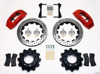 Wilwood Disc Brake Kit GMC Chevy Truck 2500 4 84 16 Drilled Rotors
