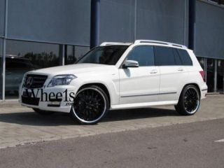 MILLENIUM 5X112 MERCEDES ML350 ML500 GL450 GLK BLACK WHEELS RIMS
