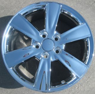 New 17 Factory ES330 Camry Chrome Wheels Rims Solara Camry Sienna Set