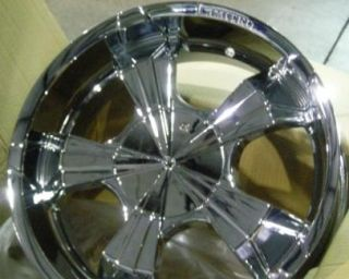 26 LIMITED 321 Rims+Tires CHROME WHEELS PACKAGE +15 rwd 5X127 Chevy