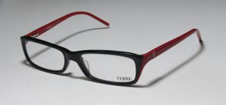 24701 53 16 130 Black Red Full Rim Eyeglasses Glasses Frame
