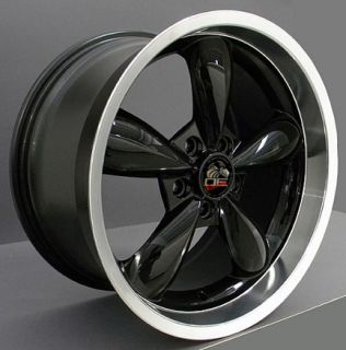 18 9 10 Black Bullitt Wheels Goodyear F1 Tires Rims Fit Mustang® GT