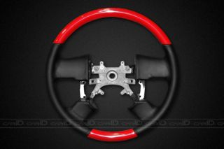 New 04 08 Ford F 150 Factory Style Steering Wheel Red w Black Leather