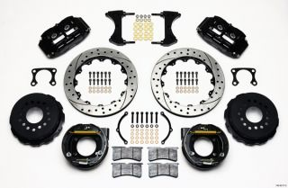 Wilwood Disc Brake Kit Rear Parking Big Ford 2 36 Offset 13 Drilled