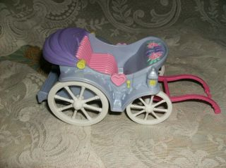 Doll Carriage Pink Purple Loving Family Romantic Cute Vintage 2001