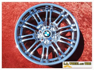 BMW M3 E46 Chrome 18 Wheels Rims Set 4 Exchange