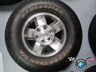 One 2012 Toyota FJ Cruiser Factory 16 Wheel Tire Rim 69532