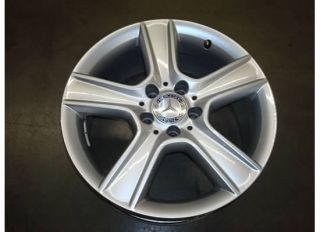 17 Mercedes Benz C300 Wheel Rim Front Factory Sport 10 11 A204 C Class