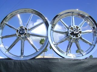 HD Sportster 883 1200 XL Roadster Chrome Wheels Rims