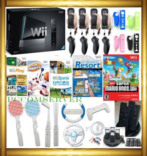 New Nintendo 1 Wii New Super Mario Bros 26 Games 4 Players Bundle