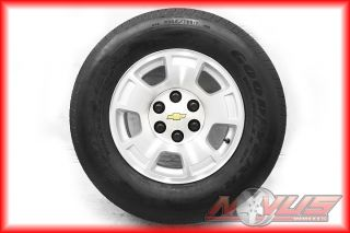 17 Chevy Tahoe Avalanche Sierra Silverado Wheels Tires