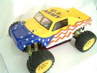 RC Truck Body Hummer USA Army Truck Body 1 10 RC Shell